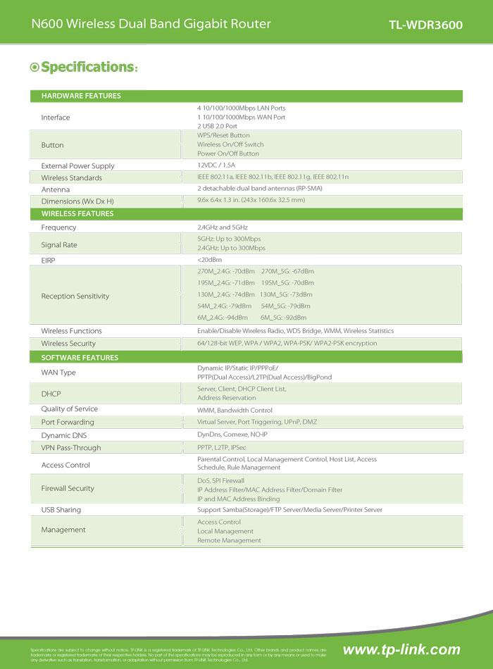 TL-WDR3600_V1_datasheet-2